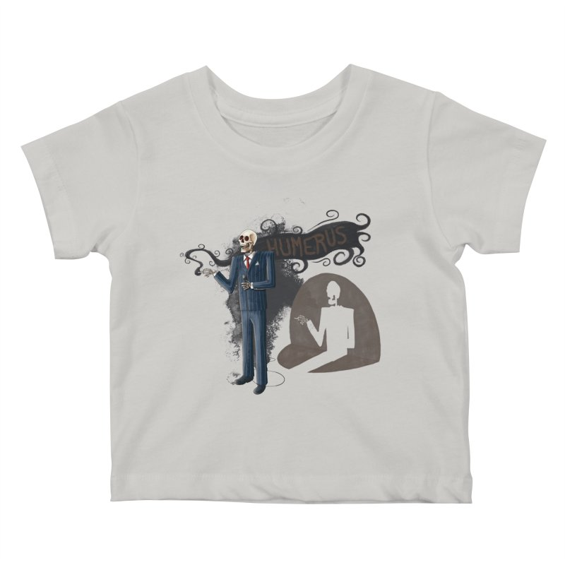 Humerus Kids Baby T-Shirt by Paul Johnson's Artist Shop