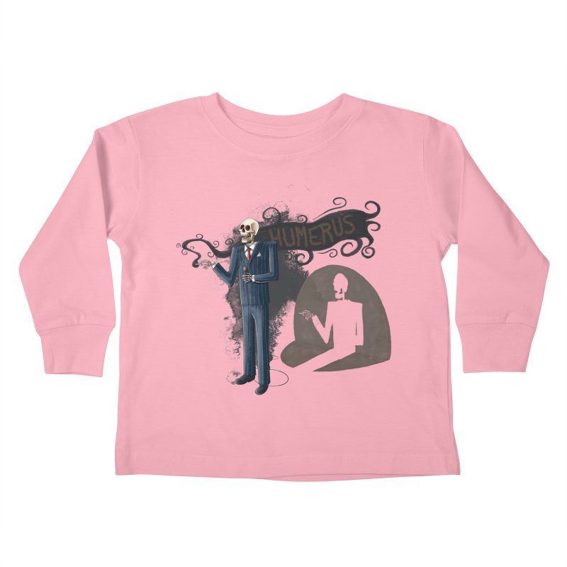 Humerus Kids Toddler Longsleeve T-Shirt by Paul Johnson's Artist Shop