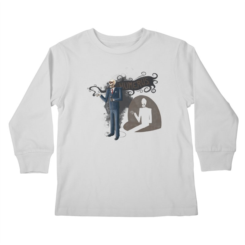 Humerus Kids Longsleeve T-Shirt by Paul Johnson's Artist Shop