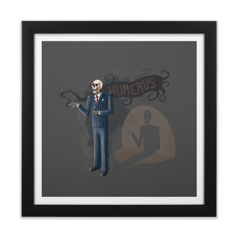 Humerus Home Framed Fine Art Print by Paul Johnson's Artist Shop