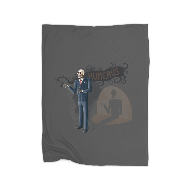 Humerus Home Blanket by Paul Johnson's Artist Shop