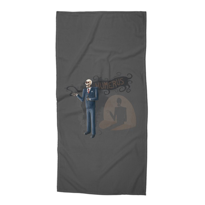 Humerus Accessories Beach Towel by Paul Johnson's Artist Shop