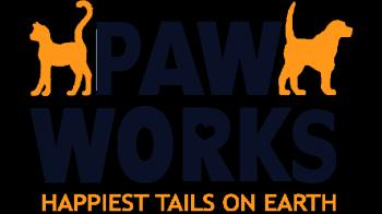 Paw Works Animal Rescue Logo
