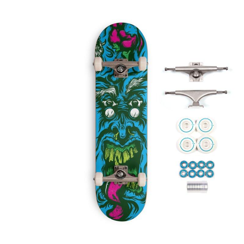 Zombie - Skateboard Accessories Skateboard by Payback Penguin