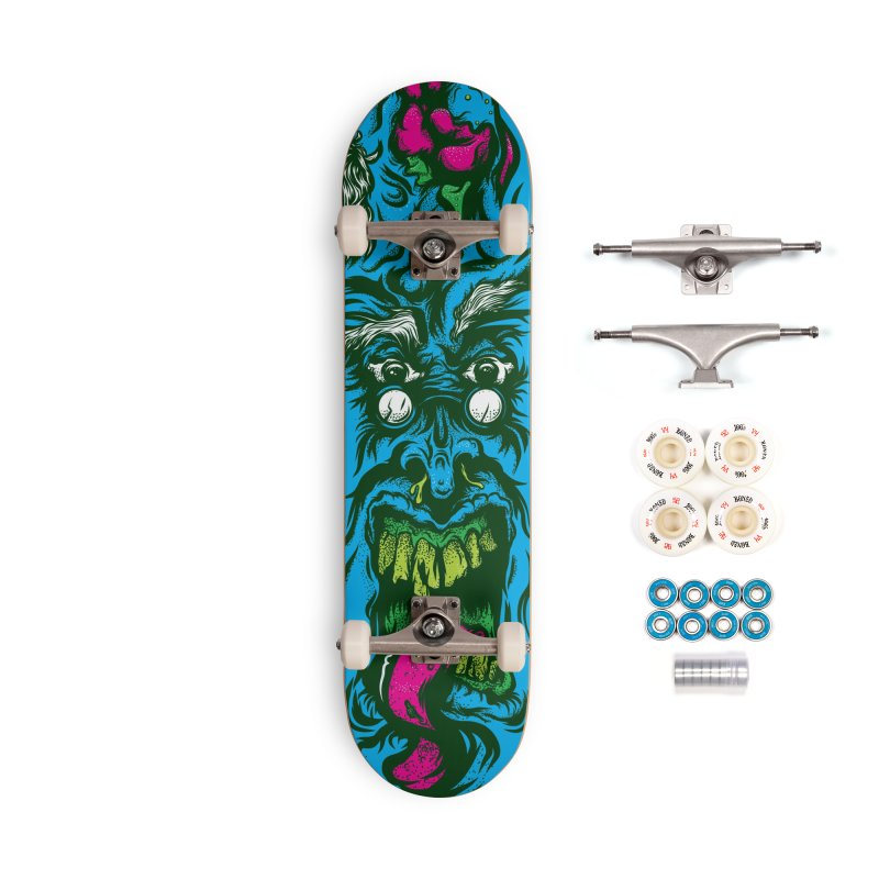 Zombie - Skateboard Accessories Complete - Premium Skateboard by Payback Penguin