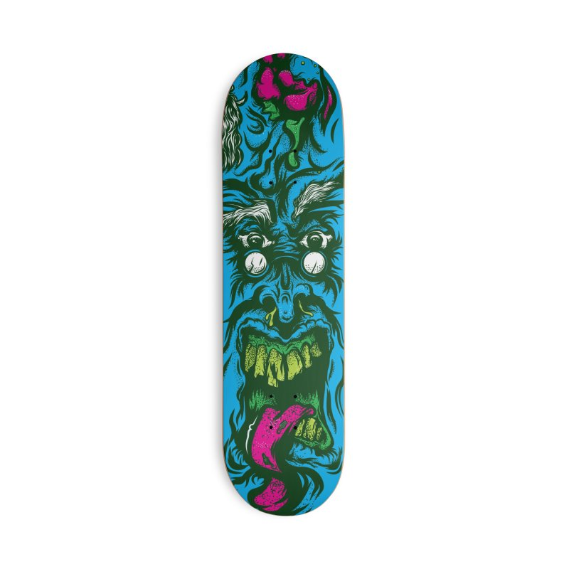 Zombie - Skateboard in Deck Only Skateboard by Payback Penguin