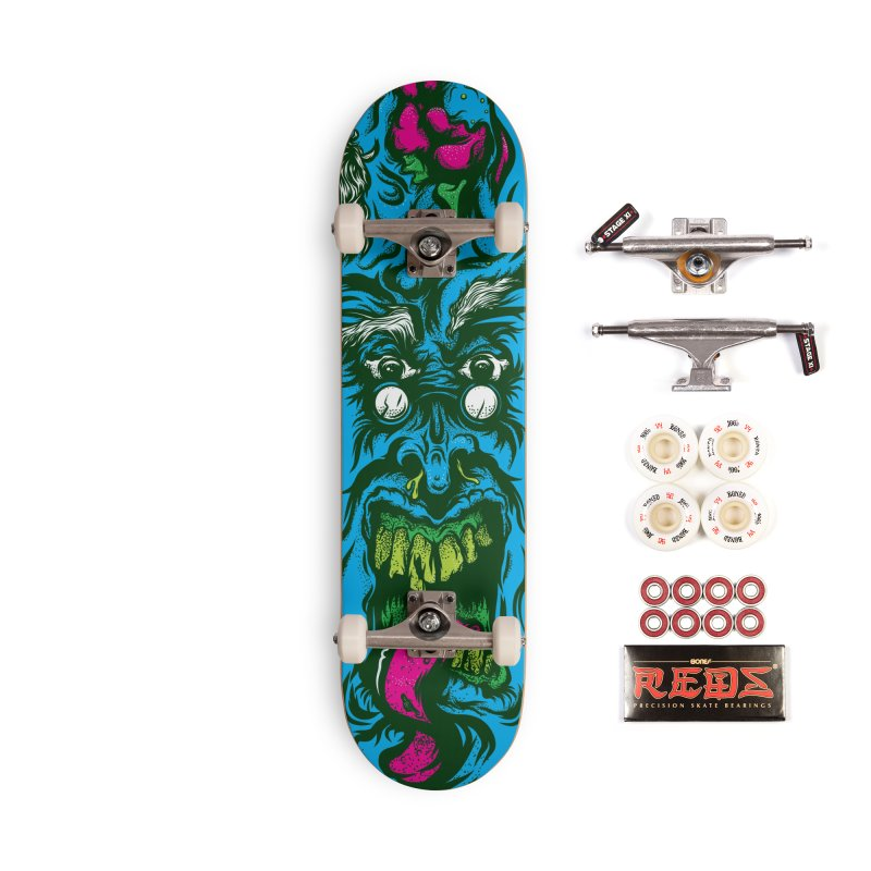 Zombie - Skateboard Accessories Complete - Pro Skateboard by Payback Penguin