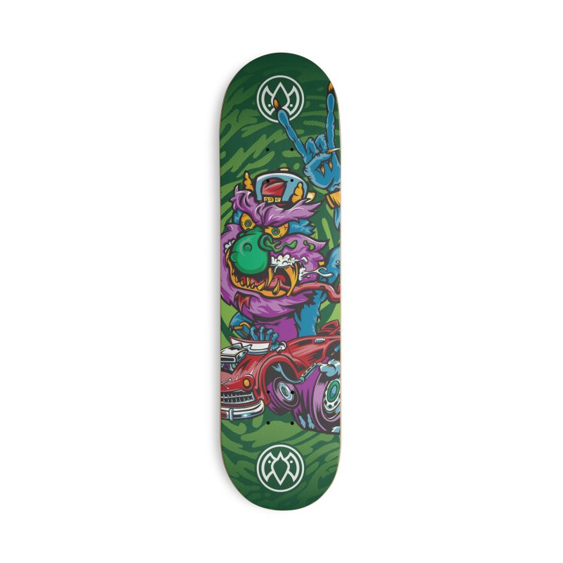 Pet Monster - Skateboard Accessories Skateboard by Payback Penguin