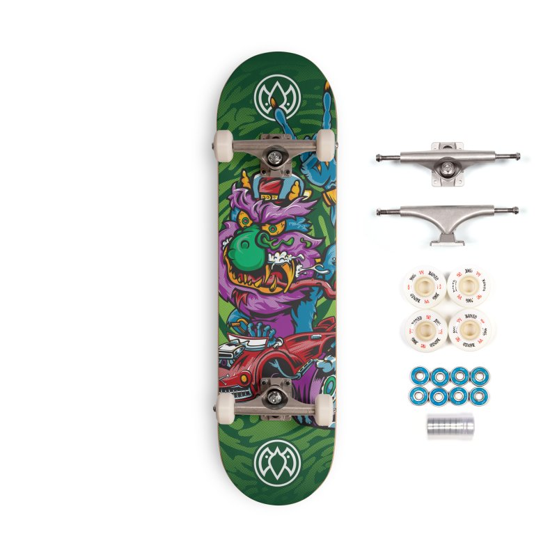 Pet Monster - Skateboard Accessories Complete - Premium Skateboard by Payback Penguin