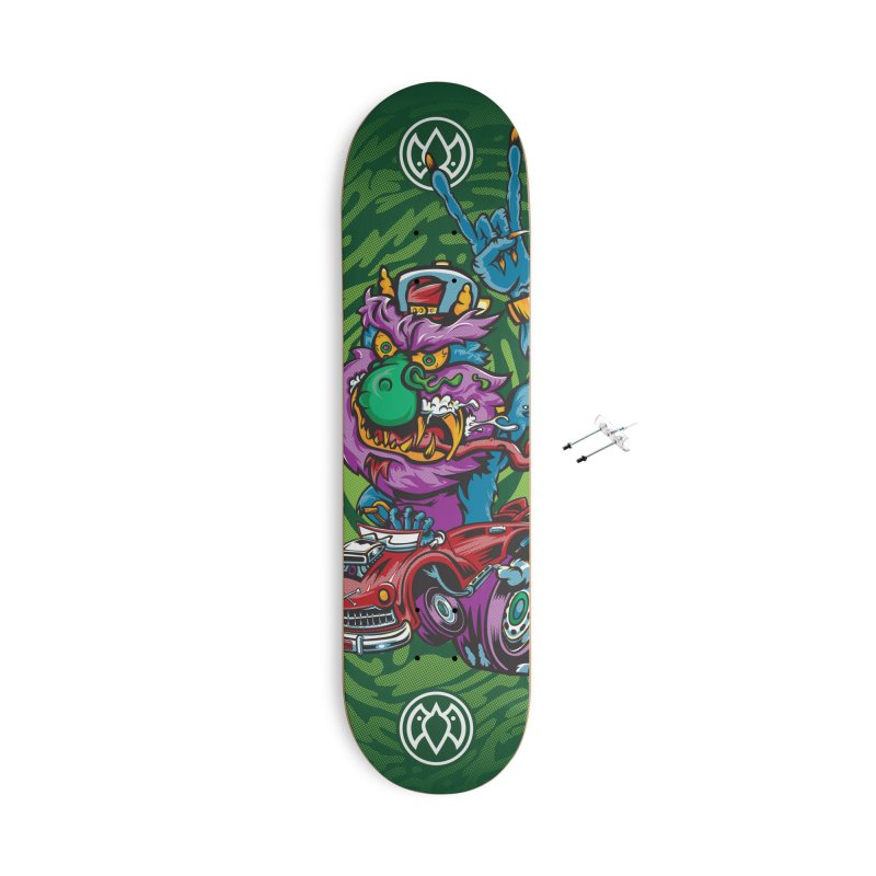 Pet Monster - Skateboard Accessories With Hanging Hardware Skateboard by Payback Penguin