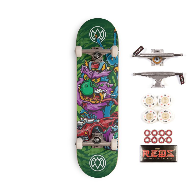 Pet Monster - Skateboard Accessories Complete - Pro Skateboard by Payback Penguin