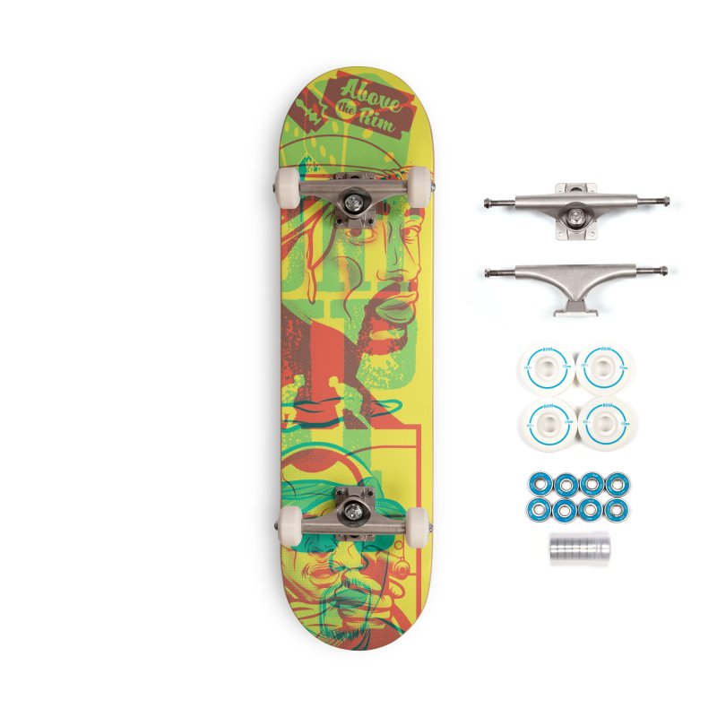 Regulate / Above the Rim Accessories Skateboard by Payback Penguin