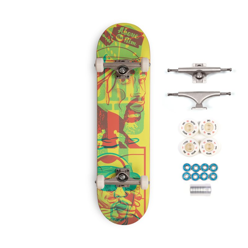 Regulate / Above the Rim Accessories Complete - Premium Skateboard by Payback Penguin