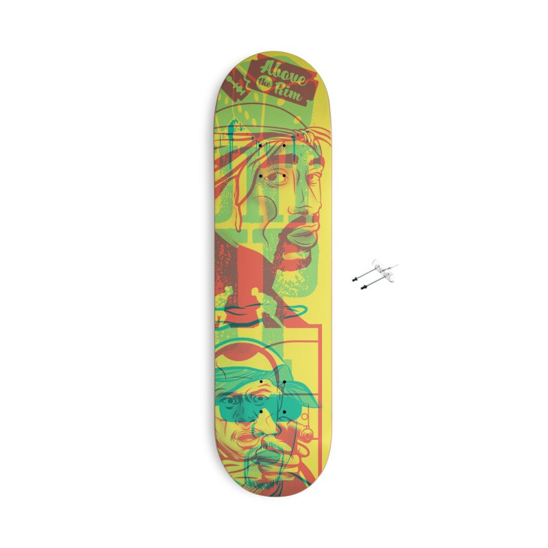 Regulate / Above the Rim Accessories With Hanging Hardware Skateboard by Payback Penguin
