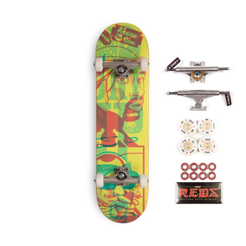 Regulate / Above the Rim Accessories Complete - Pro Skateboard by Payback Penguin