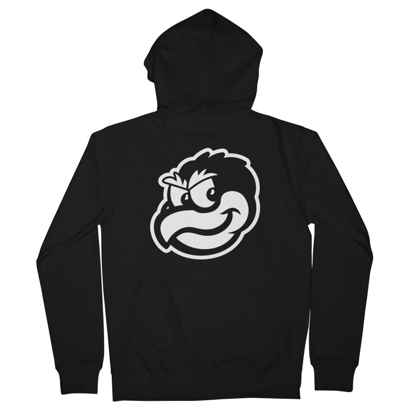 Payback Penguin Mascot Men's Zip-Up Hoody by Payback Penguin