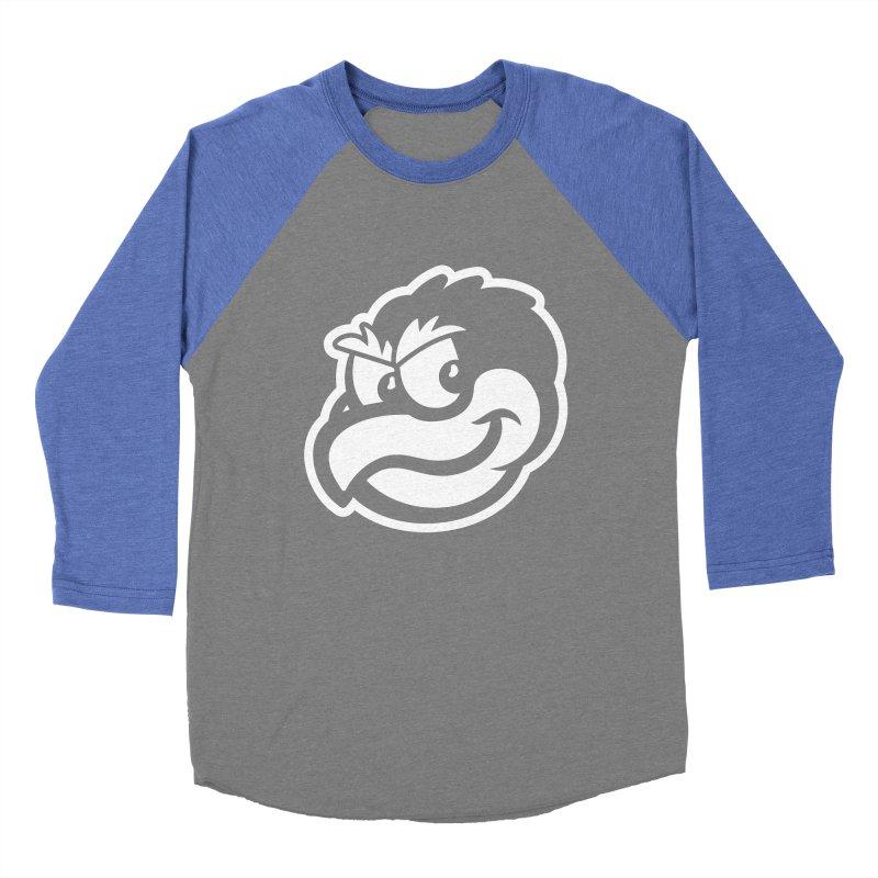 Payback Penguin Mascot Men's Baseball Triblend T-Shirt by Payback Penguin