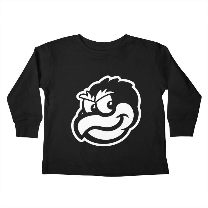 Payback Penguin Mascot Kids Toddler Longsleeve T-Shirt by Payback Penguin