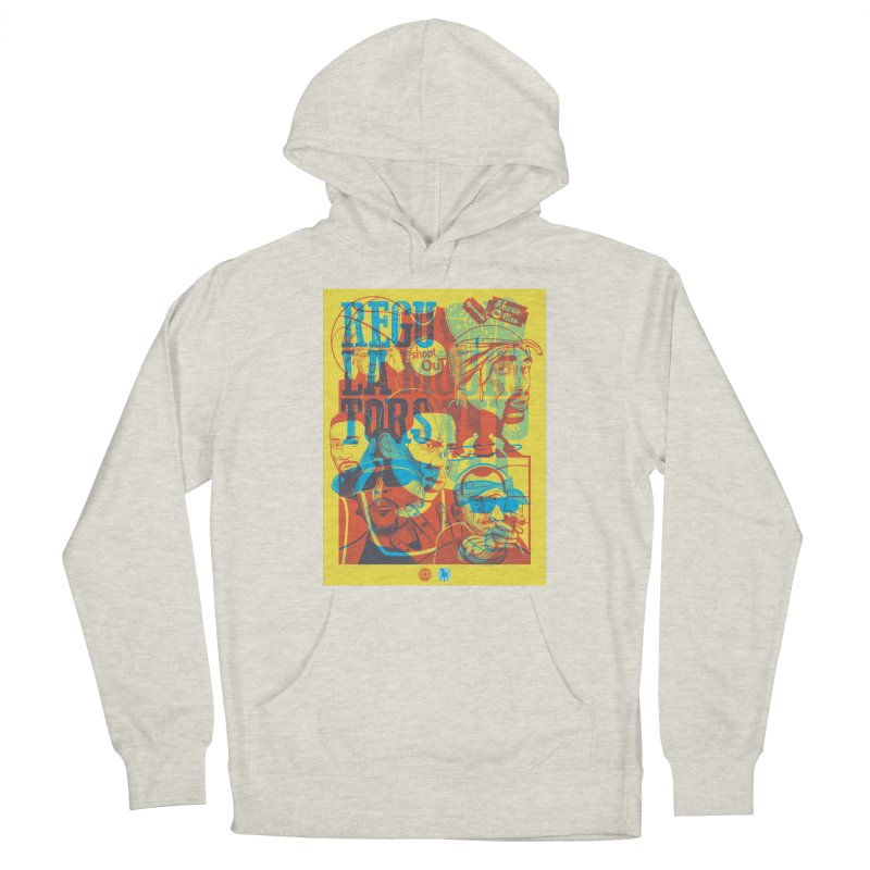 Above the Rim / Regulators Women's Pullover Hoody by Payback Penguin