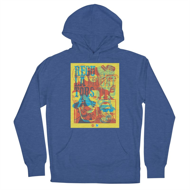 Above the Rim / Regulators Women's French Terry Pullover Hoody by Payback Penguin