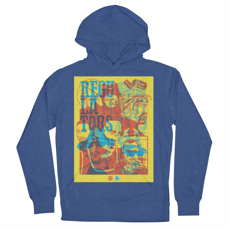 Above the Rim / Regulators Men's French Terry Pullover Hoody by Payback Penguin