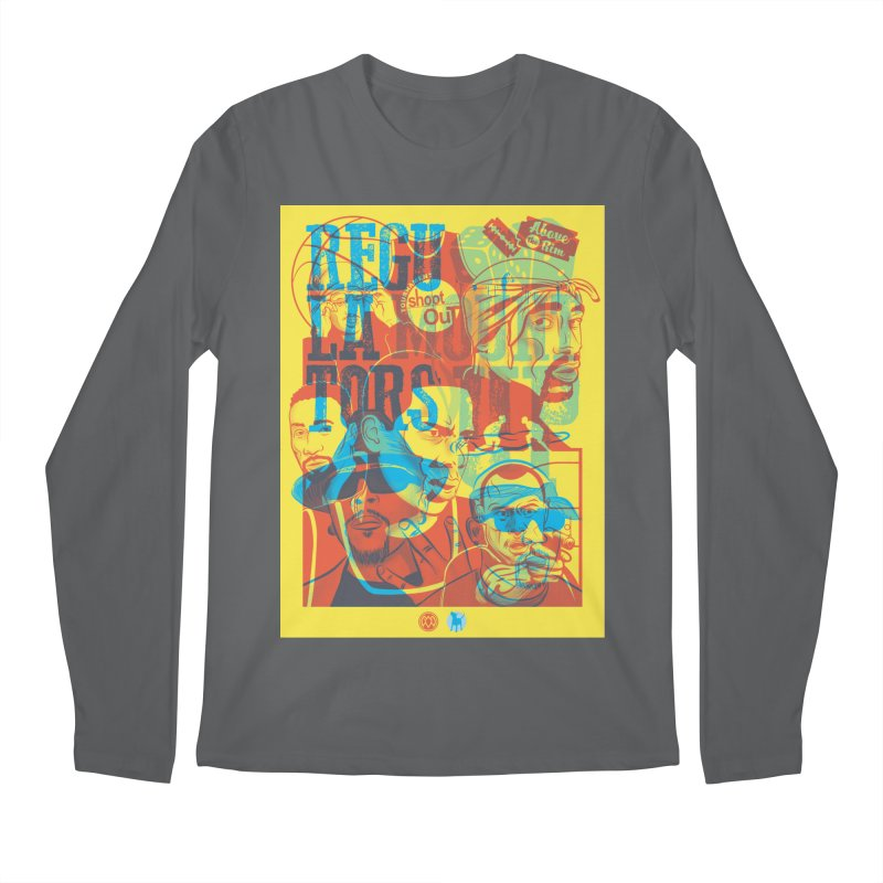 Above the Rim / Regulators Men's Regular Longsleeve T-Shirt by Payback Penguin