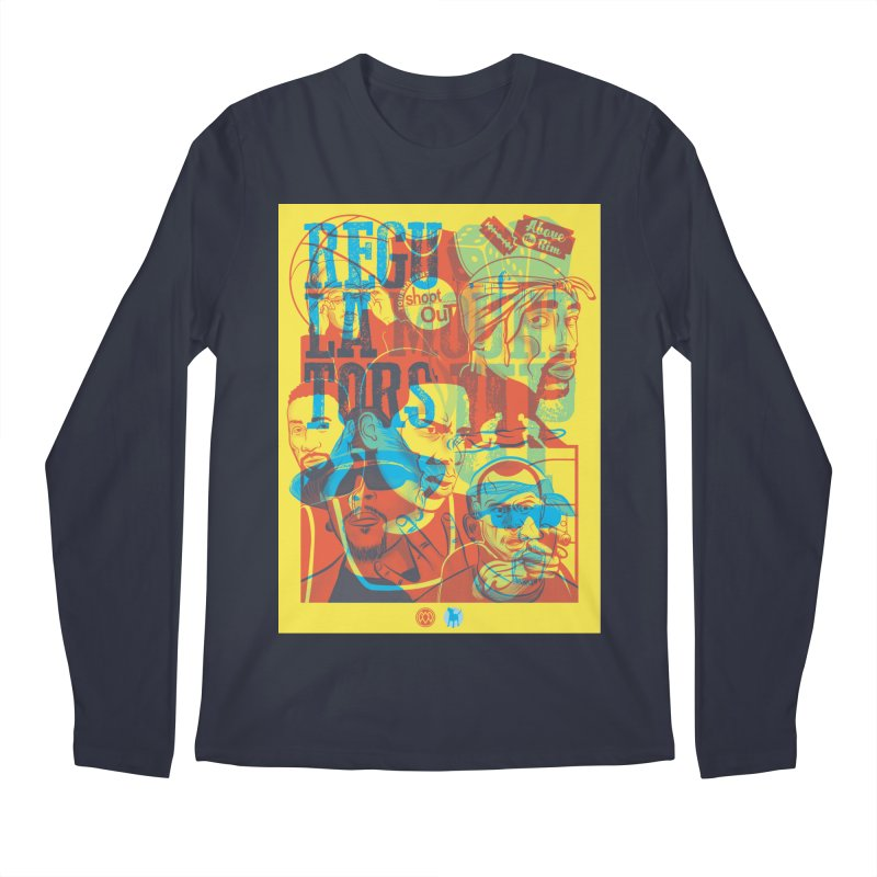 Above the Rim / Regulators Men's Longsleeve T-Shirt by Payback Penguin