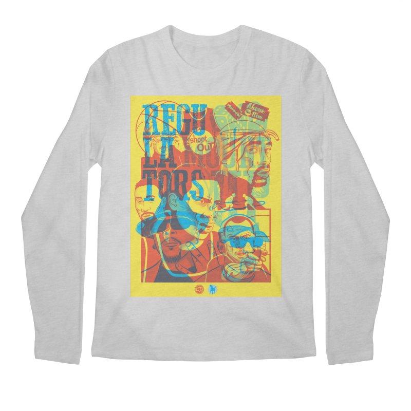 Above the Rim / Regulators Men's Regular Longsleeve T-Shirt by Payback Penguin