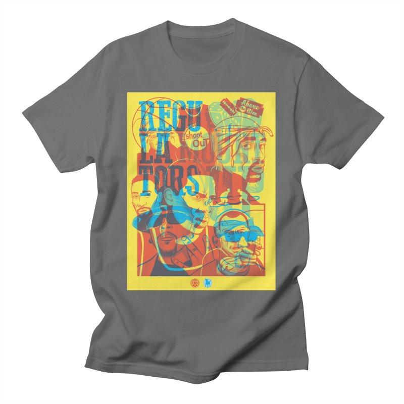 Above the Rim / Regulators Men's T-Shirt by Payback Penguin