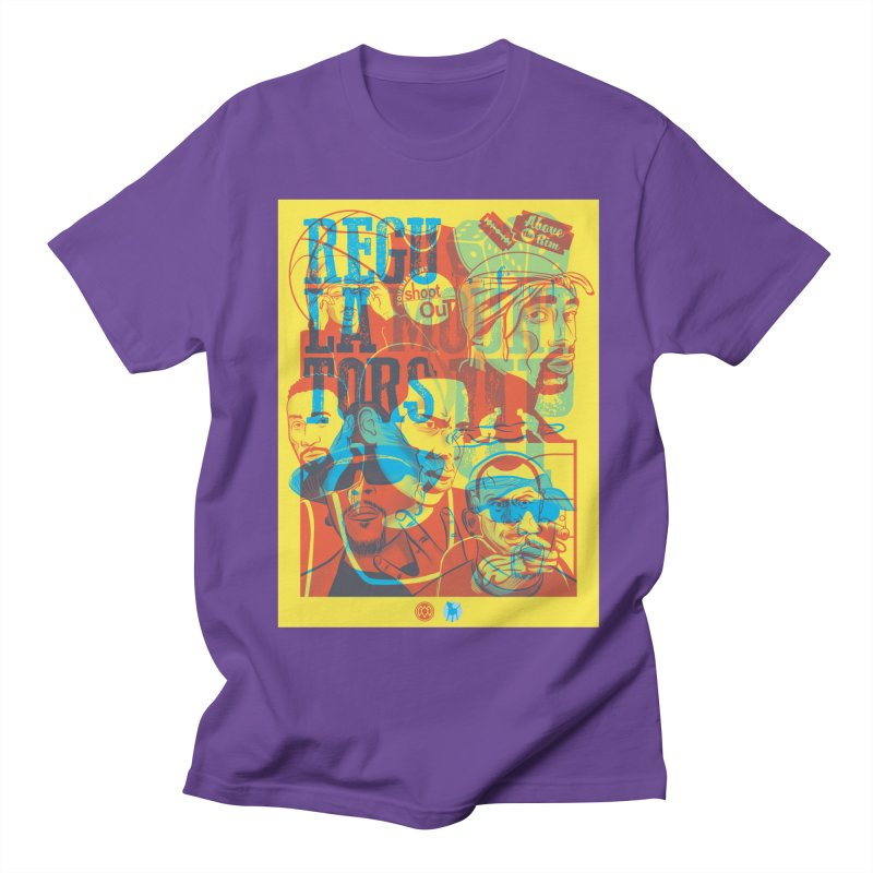 Above the Rim / Regulators Women's Unisex T-Shirt by Payback Penguin