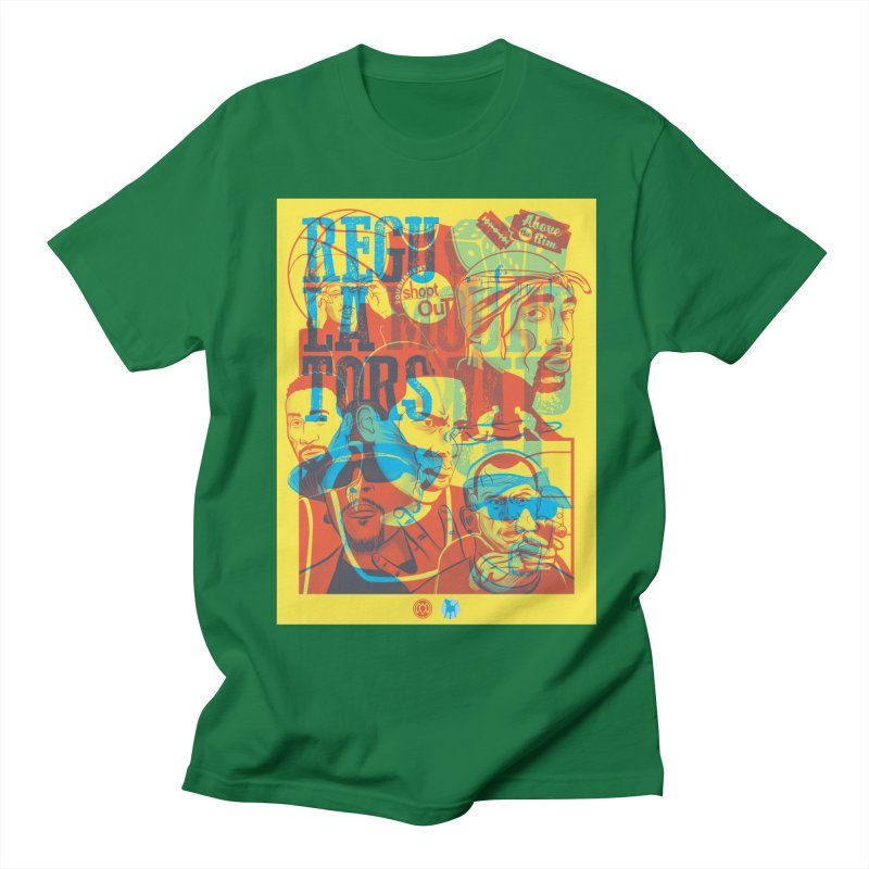 Above the Rim / Regulators Women's Unisex T-Shirt by Payback Penguin