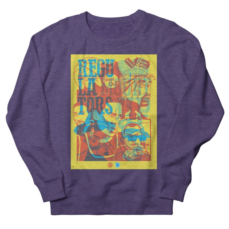 Above the Rim / Regulators Women's French Terry Sweatshirt by Payback Penguin