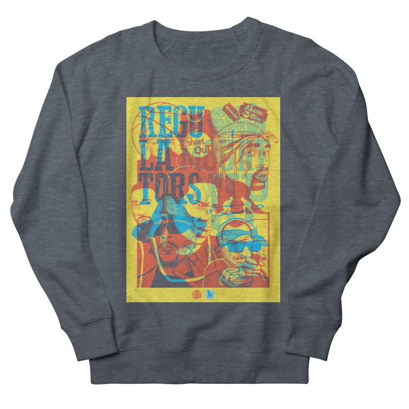 Above the Rim / Regulators Women's Sweatshirt by Payback Penguin
