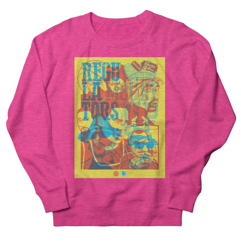 Above the Rim / Regulators Women's Sweatshirt by Payback Penguin