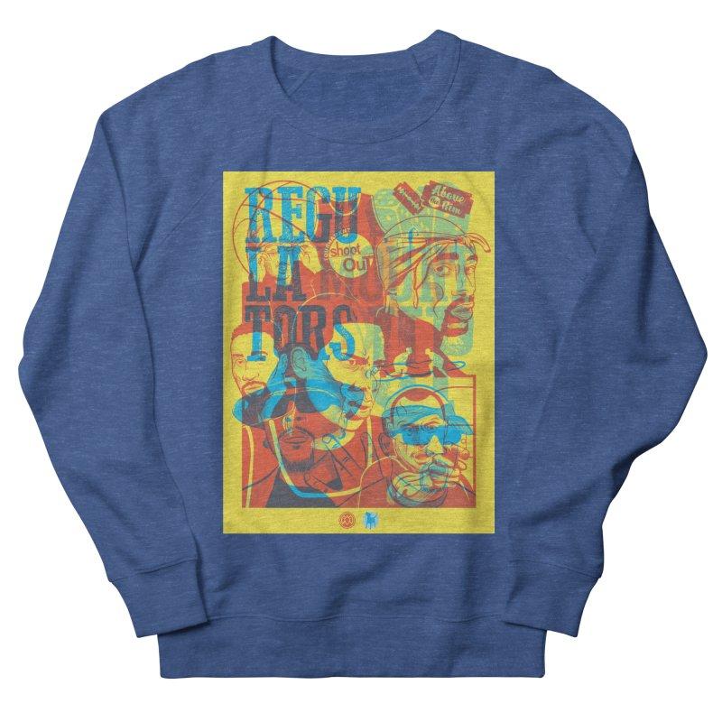 Above the Rim / Regulators Men's Sweatshirt by Payback Penguin