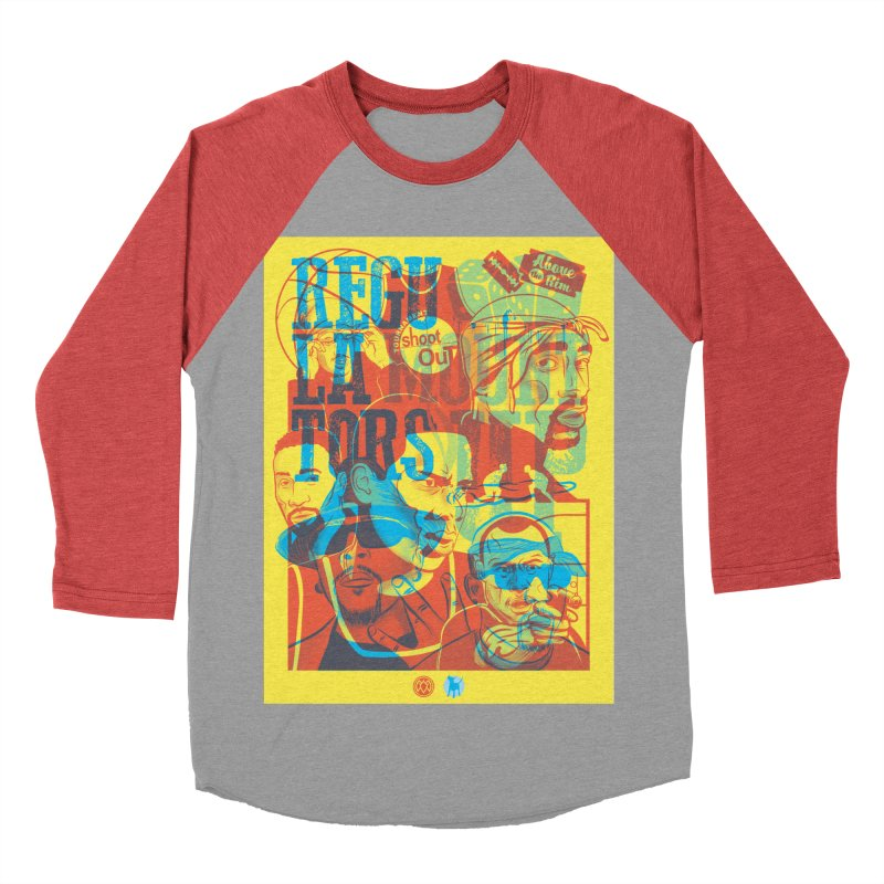 Above the Rim / Regulators Women's Baseball Triblend Longsleeve T-Shirt by Payback Penguin
