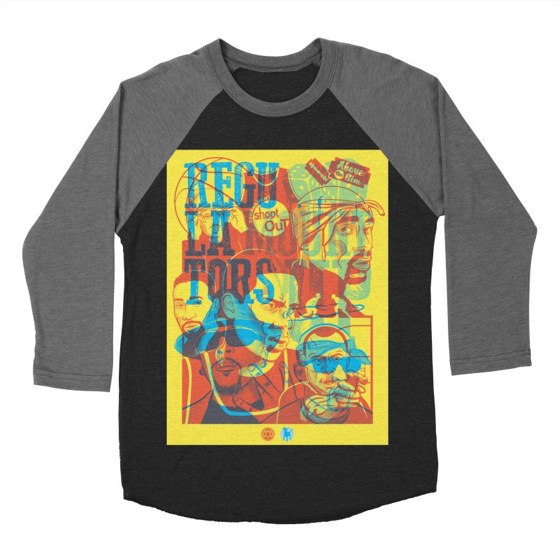 Above the Rim / Regulators Men's Baseball Triblend Longsleeve T-Shirt by Payback Penguin
