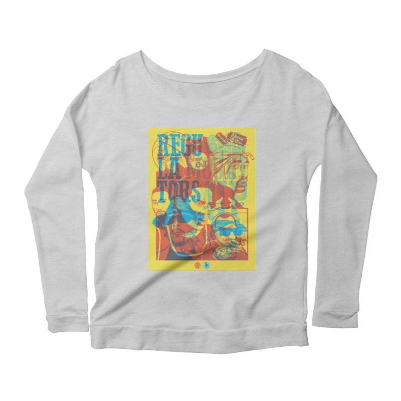 Above the Rim / Regulators Women's Scoop Neck Longsleeve T-Shirt by Payback Penguin