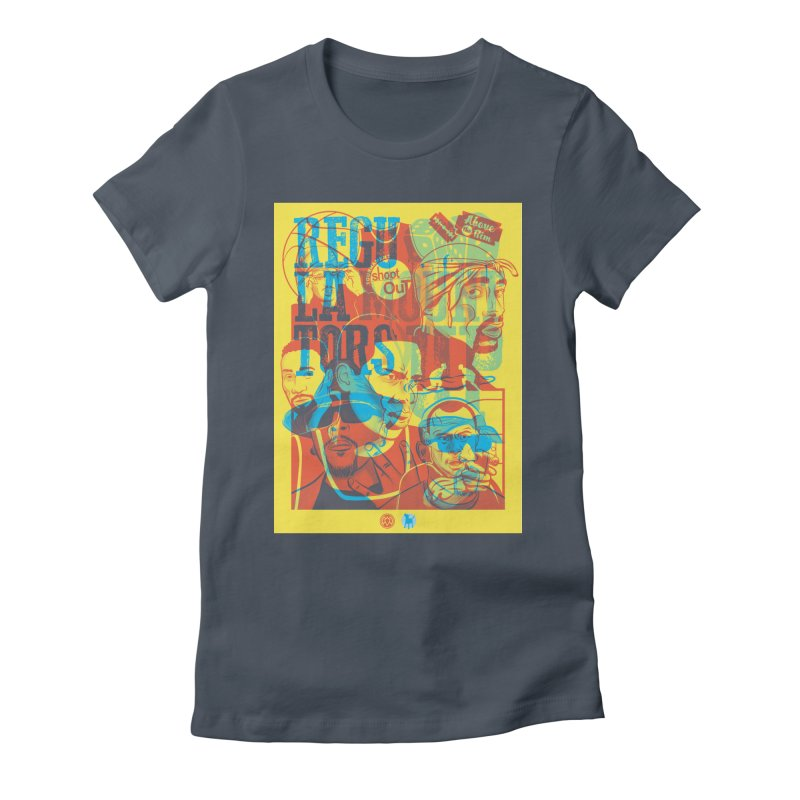 Above the Rim / Regulators Women's T-Shirt by Payback Penguin