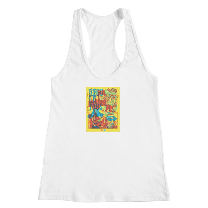 Above the Rim / Regulators Women's Racerback Tank by Payback Penguin