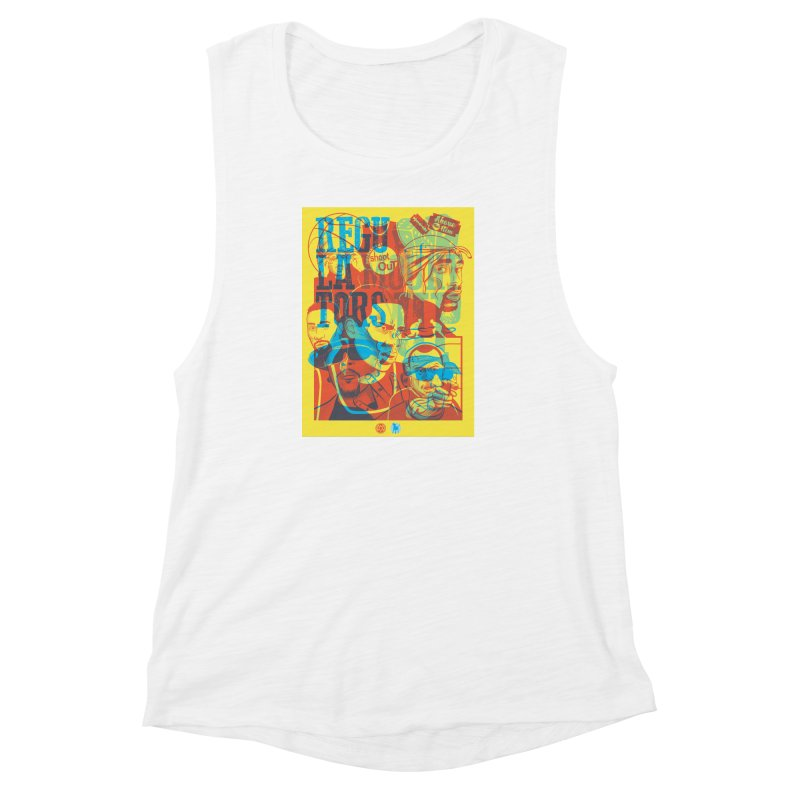 Above the Rim / Regulators Women's Muscle Tank by Payback Penguin