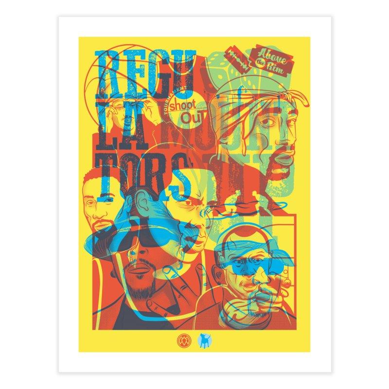 Above the Rim / Regulators Home Fine Art Print by Payback Penguin