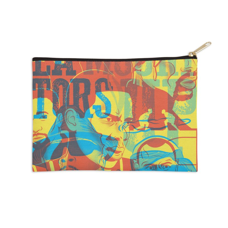 Above the Rim / Regulators Accessories Zip Pouch by Payback Penguin
