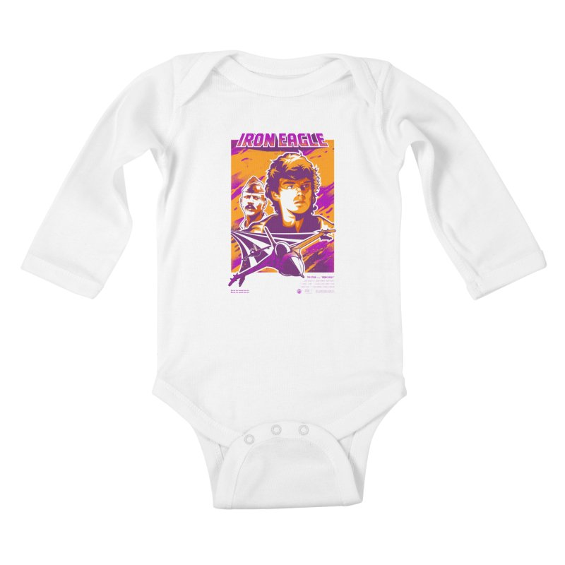 Going Back For Dad Kids Baby Longsleeve Bodysuit by Payback Penguin