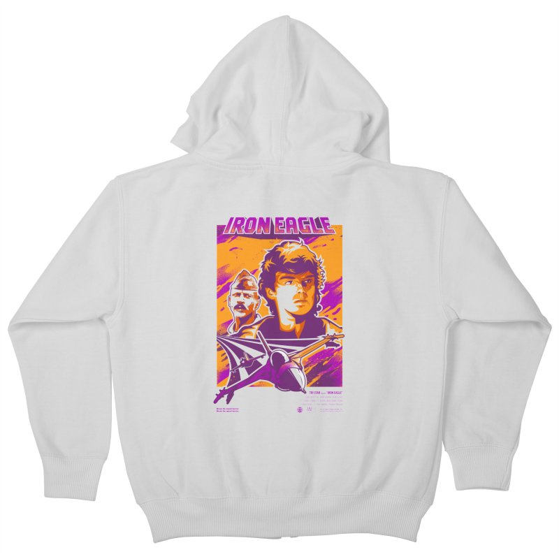 Going Back For Dad Kids Zip-Up Hoody by Payback Penguin