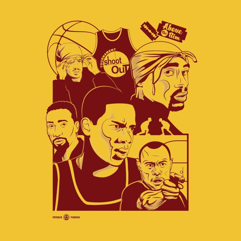 Above the Rim - Red by Payback Penguin
