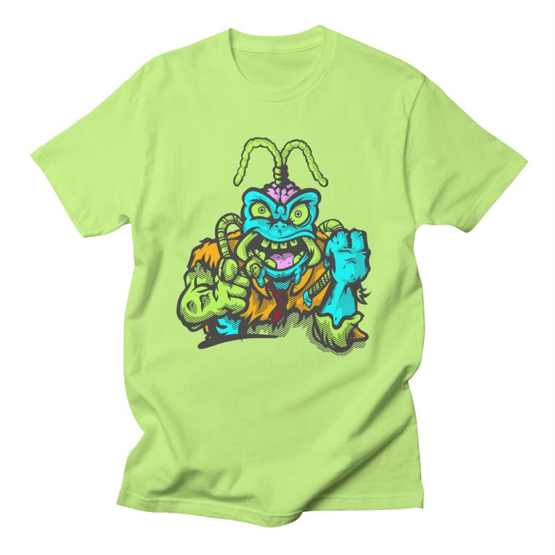 Scum Bug in Men's Regular T-Shirt Neon Green by Payback Penguin