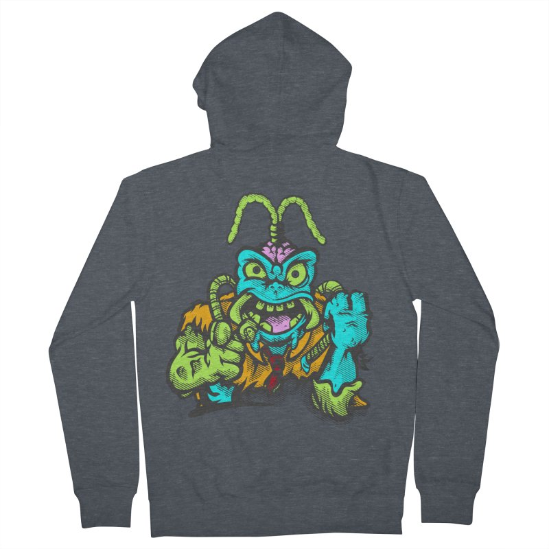 Scum Bug Men's Zip-Up Hoody by Payback Penguin