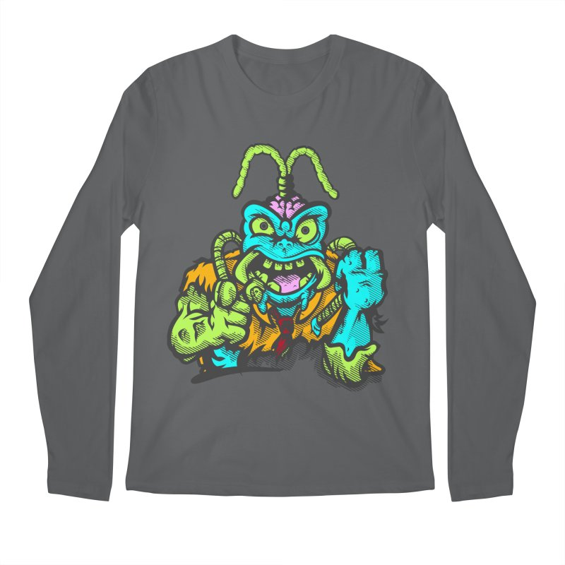 Scum Bug Men's Longsleeve T-Shirt by Payback Penguin