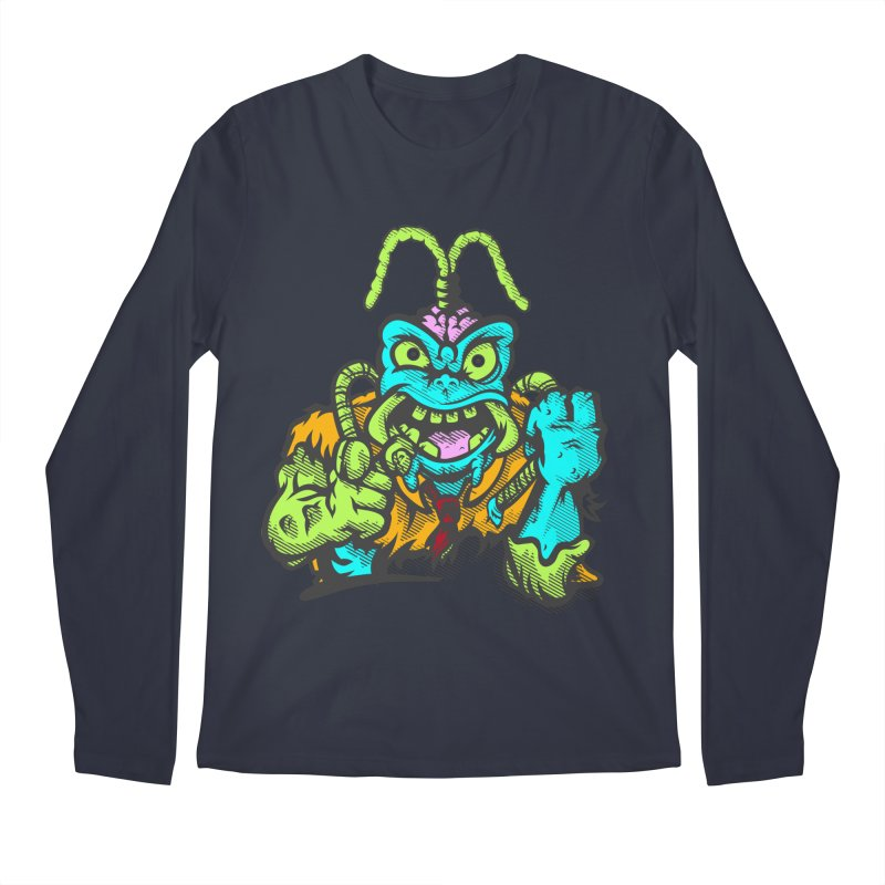 Scum Bug Men's Regular Longsleeve T-Shirt by Payback Penguin